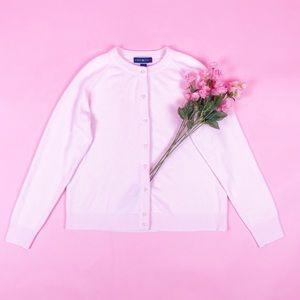 Vintage Karen Scott Pastel Pink Cardigan